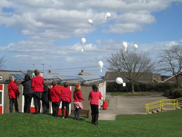 Balloon Release!