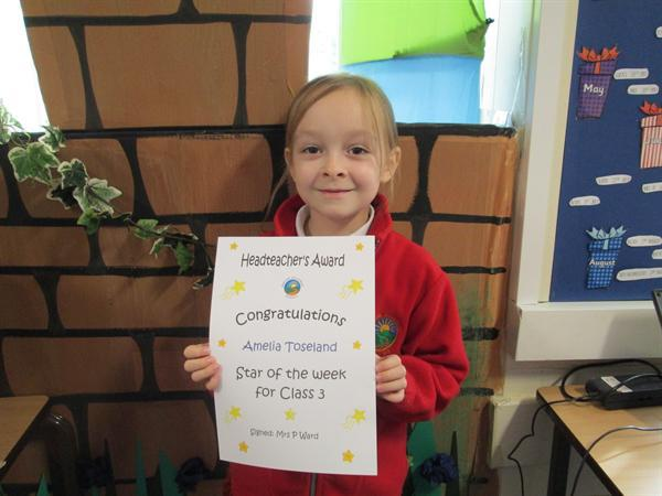 Star of the Week 7th October