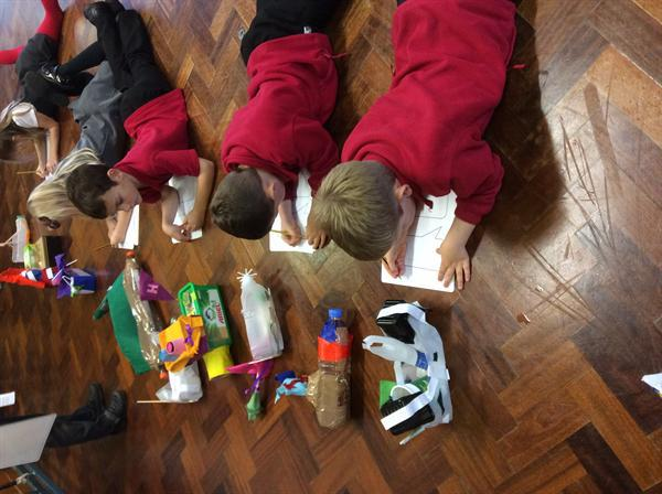 We worked out why the boats had floated or tipped