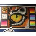 Pastel Eye in Year 5 showing progression of skills