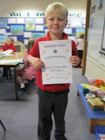 Our first 'Star Learner'!
