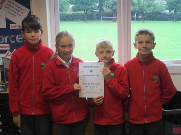September's Headteacher's Award Winners