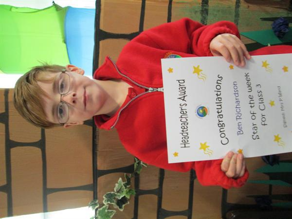 Star of the Week 30th September