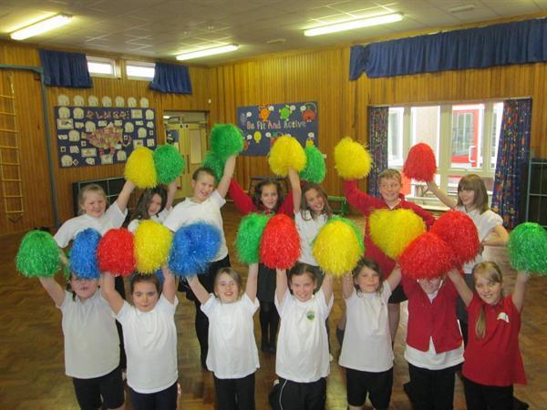 We were amazing Cheerleaders!