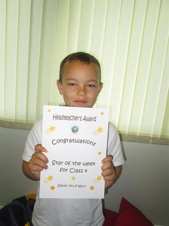 Star of The Week for 16th September 2013