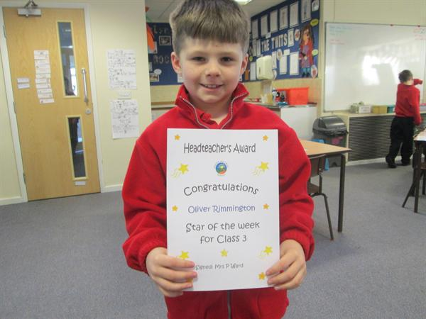 Star of the Week 20th January 2014