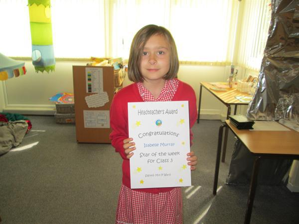 Star of the Week 19th May 2014