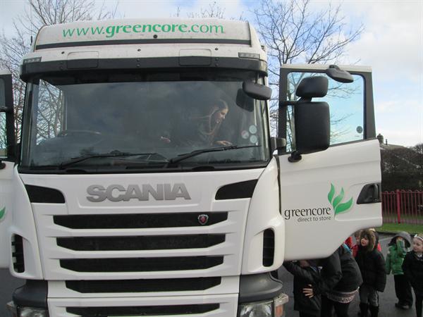 Lorry Visit!