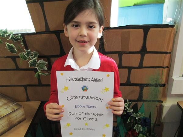 Star of the Week 11th November
