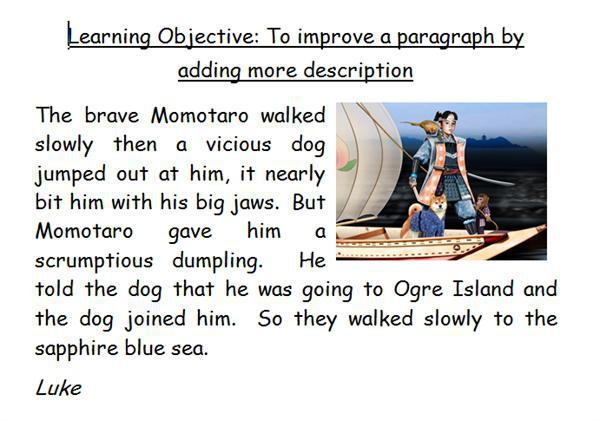 Superb descriptions