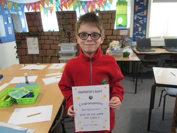 Star of the Week 27th January