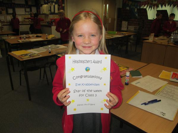 Star of the Week 7th April