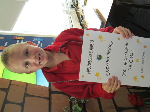 Star of the Week 9th September