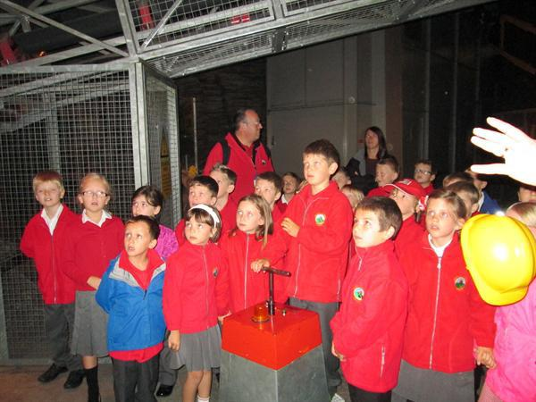 Class Three making an explosion! (