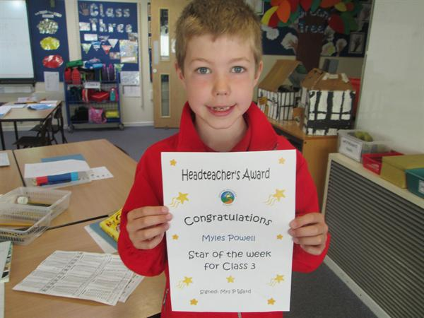 Star of the Week 5th May 2014