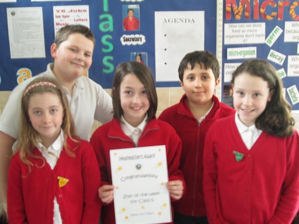 January's Achievement Award Winners