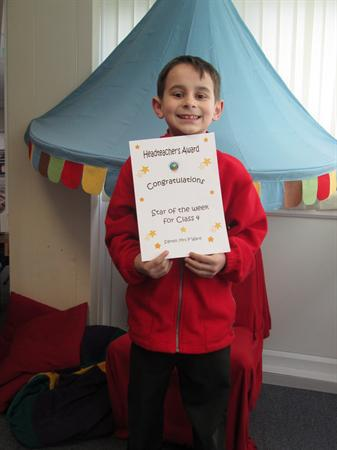 Star of the Week 13th January 2014