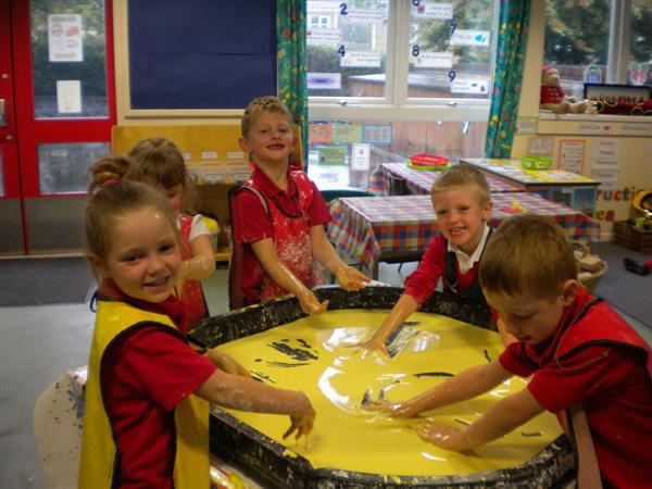 Fun in the Gloop!