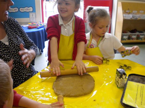 Baking Gingerbread!