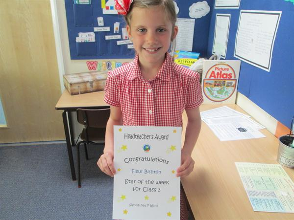 Star of the Week 2nd June 2014