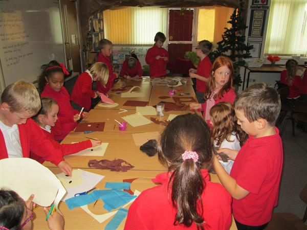 On our WOW Day, we made amazing masks.....