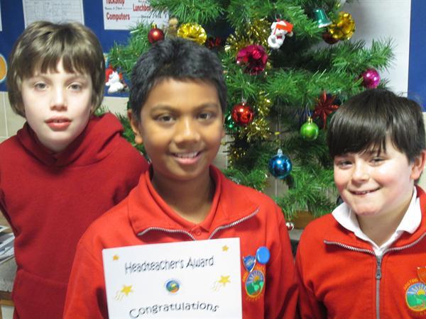 December's Achievement Winners