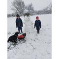 Pippa's Snowman.