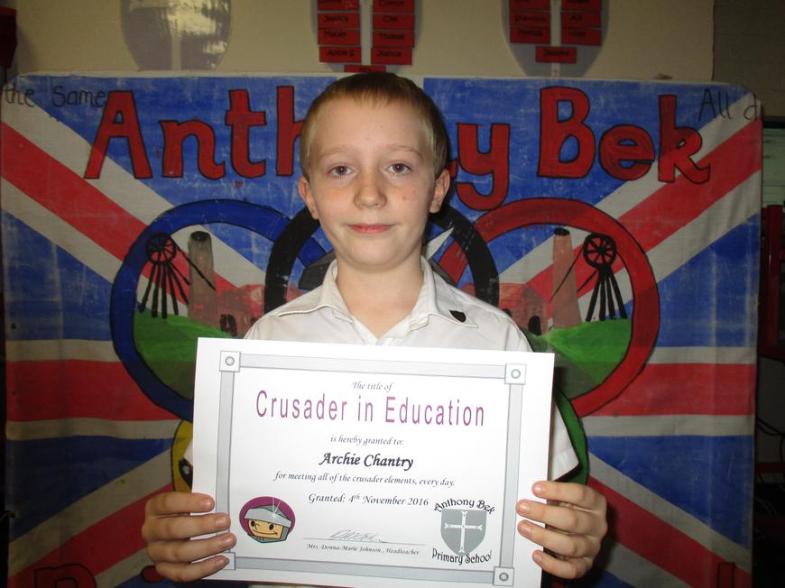Archie Chantry Y6