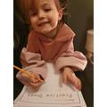 Ellie's Handwriting