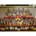 Harvest 2016 donations