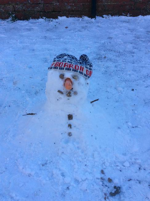Jerry the snowman