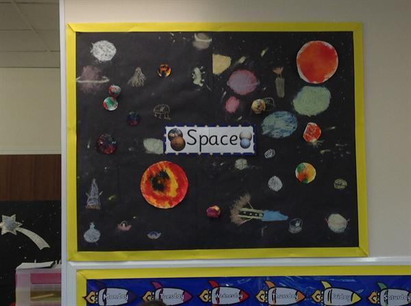 Year 2 - Space topic