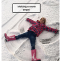 P4 Sophie Wray enjoying the snow