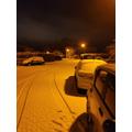 Mrs McCullough's winter night scene