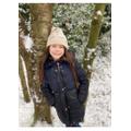 P4 Evie Fawcett enjoying the snow