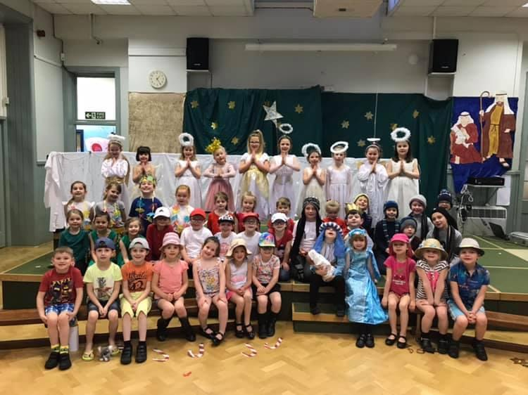 Class 1 and 2 Christmas Around The World