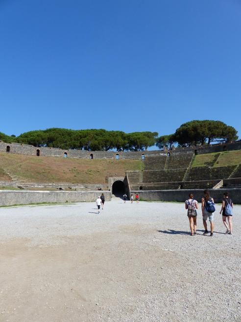 Ampitheatre - Built in 80BC by digging 6m down.