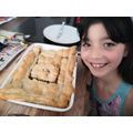 Eva made apple pie on her own