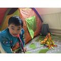 Ivan's tent