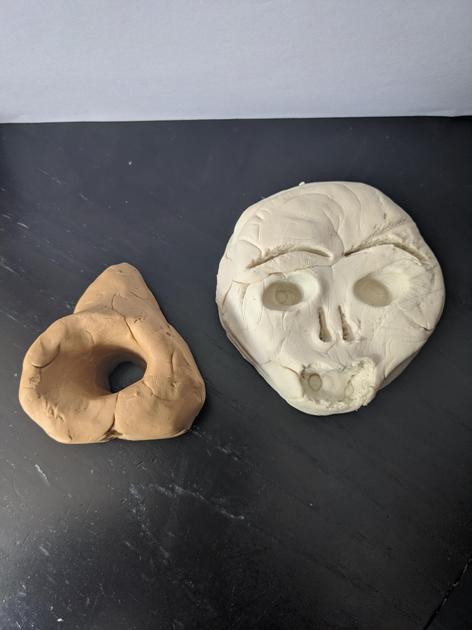 Mya's sculptures
