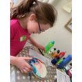 Science experiment - colour diffusion