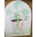 Observational drawing by Gabby