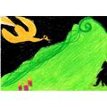 Art inspired by Stravinsky's 'The Firebird'-KatieR