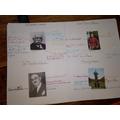 Historical figures in Welwyn Garden City by Elodie
