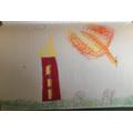 Art inspired by Stravinsky's The Firebird-Tegan