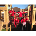 'Hanging' around in the shared outdoor area