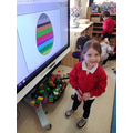Decorating Easter Eggs as part of our learning about Easter