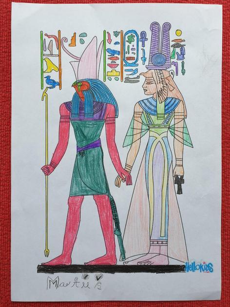Matus's Egyptian Colouring