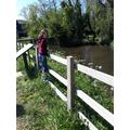 Katie's River walk to inspire her poem