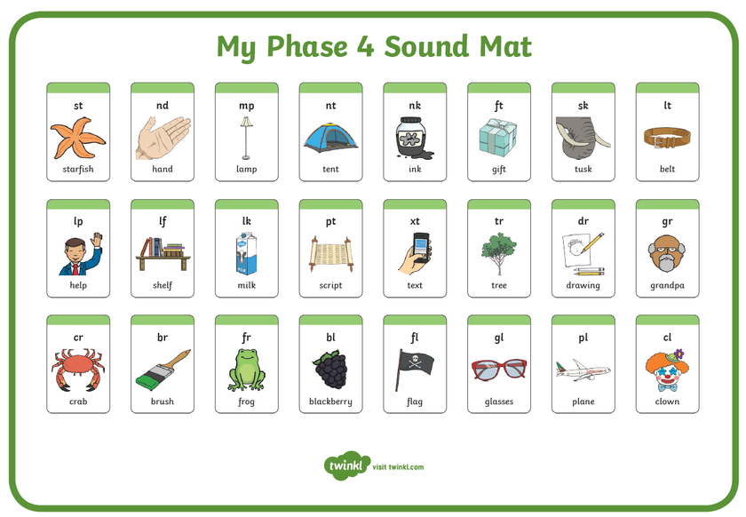Phase 4 Sound Mat